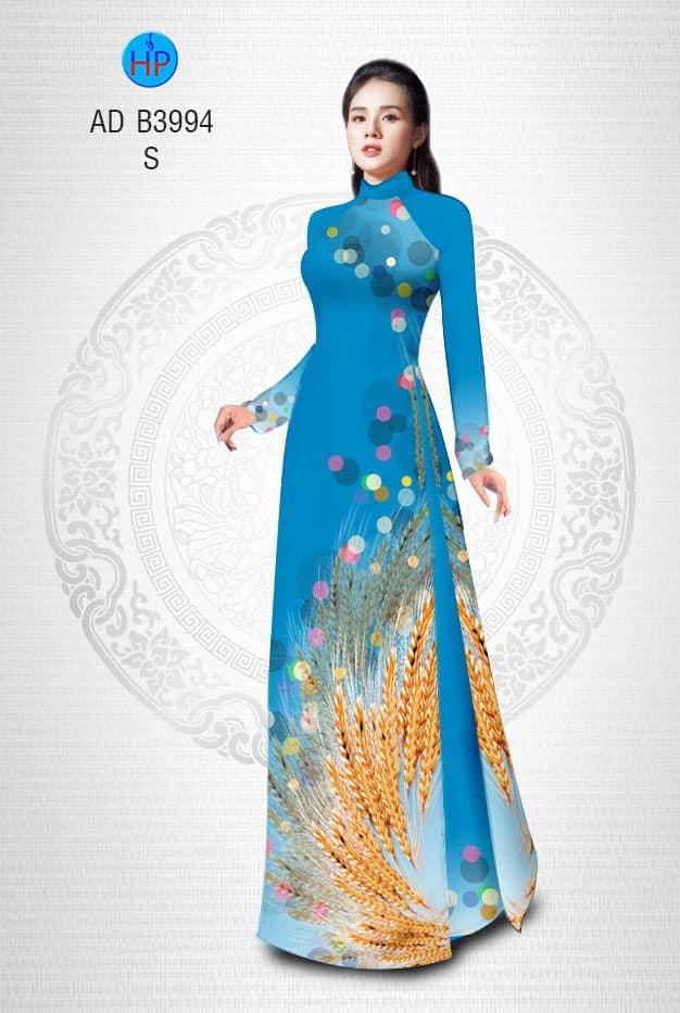 Vải áo dài Lúa mì mới ra AD B3994