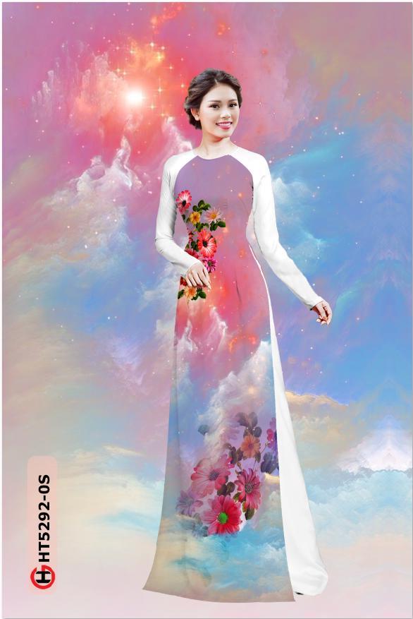 Vải áo dài Vai ao dai dep AD thiết kế 2019 AD