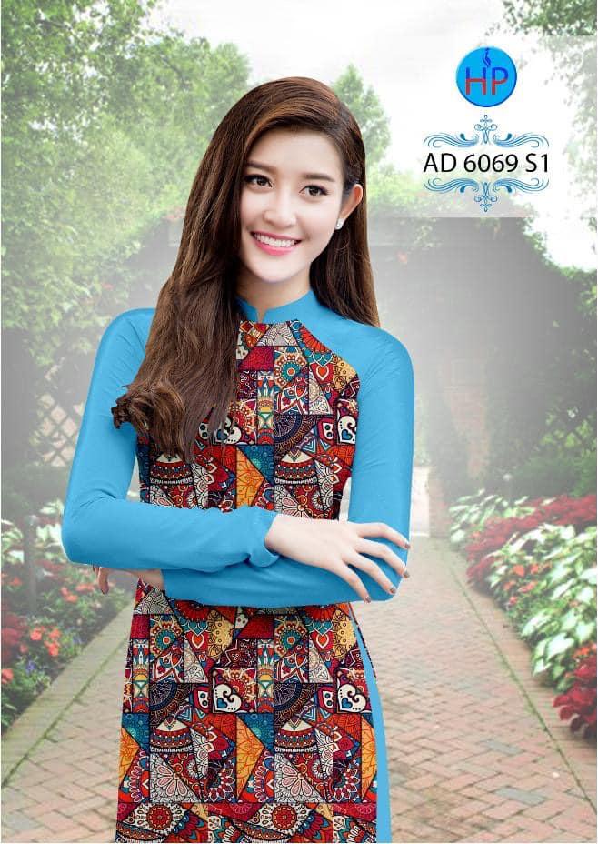 Vải áo dài Cô Ba Sài Gòn mới ra AD 6069